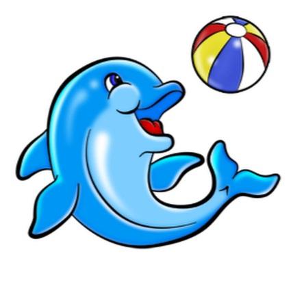 картинки с дельфином детские термобелье